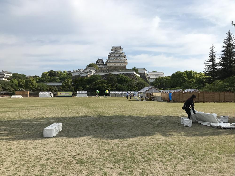ヒデさんの姫路城への投稿