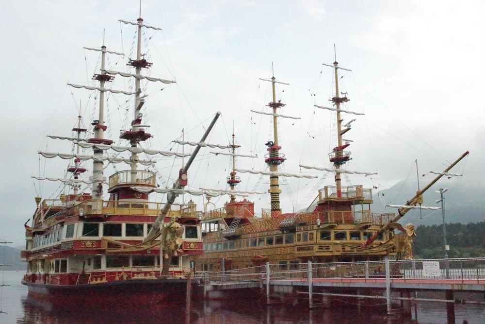 Katsumi Ishibashiさんの箱根海賊船箱根町港への投稿